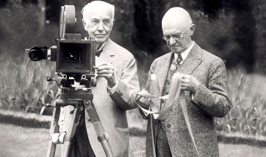 Who Developed the Earliest Portable Movie Cameras